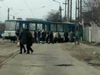 В Запорожье закрывают участок, где сходят с рельсов трамваи