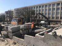 Сквер перед театром Магара реконструируют с сентября: что уже сделано (Фото)