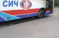 На Шевченковском автобус «Мотор Сич» сбил ребенка