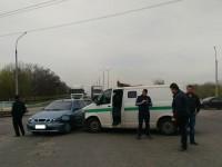 В Запорожье инкассаторская машина попала в ДТП