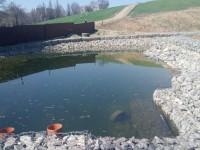 Под новый ландшафтный парк на «Радуге» расчистили балку и обустроили озеро (Фото)