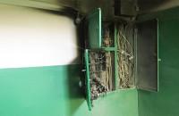 Жильцы энергодарской многоэтажки остались без света из-за пожара