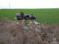 В Запорожской области осудили многодетную мать, слетевшую в кювет на легковушке с 7 пассажирами