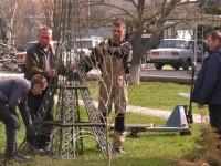 На запорожском курорте устанавливают свою Эйфелеву башню
