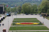 Вандалы разрушают каскад фонтанов «Радуга» в Запорожье