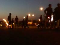 На Шевченковском без света целый поселок: запорожцы блокируют трассу (Обновляется)