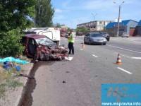 В Запорожской области «Жигули»  лоб в лоб столкнулись с грузовым микроавтобусом – есть погибшие (Фото)