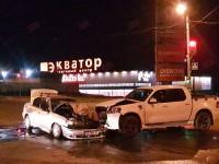 В Запорожской области такси столкнулось с внедорожником – есть пострадавшие