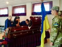 В Запорожской области простились с силовиком, погибшим под обстрелом