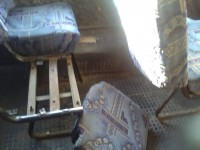 В запорожской маршрутке полностью отвалилось сиденье