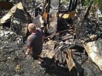 В Запорожье сгорел частный дом – погибли 15 собак (Фото)