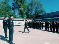 В Запорожье приняли присягу новые сотрудники патрульной полиции
