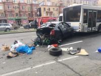 Фото с места масштабной аварии, устроенной водителем «Лексуса» (Фото)
