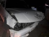 В Запорожье автомеханик разбил BMW клиента
