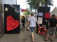 Одесса-мама: самый старый район Запорожья отмечает годовщину в морском стиле (Фоторепортаж)