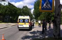 В центре Запорожья водитель легковушки сбил на пешеходном переходе ребенка