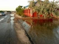 В Кирилловке затопило базы отдыха (Фото)