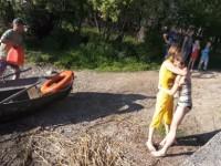 Под Запорожьем перевернулась лодка с пассажирами (Видео)