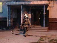 В спальном районе Запорожья горела девятиэтажка