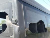 В центре Запорожья троллейбусный троллей разбил стекла в маршрутке – образовалась пробка