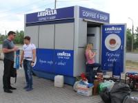 На запорожской «Радуге» демонтируют популярные киоски