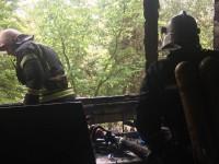В Запорожской области загорелся балкон – пострадал мужчина