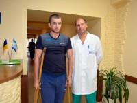 В Запорожской облбольнице помогают встать на ноги пациентам после ДТП