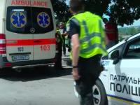 За час шестеро водителей не пропустили «скорую» в центре города (Видео)