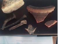 Запорожские археологи обнаружили на дне Днепра старинную лодку