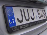 В Запорожской области выросло число аварий при участии водителей авто на «евробляхах» – статистика