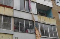 В Запорожье психически больной мужчина сбежал по простыням с квартиры на 4 этаже