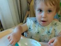 Энергодарец рассказал о состоянии двухлетнего сына, выпавшего из окна 5 этажа