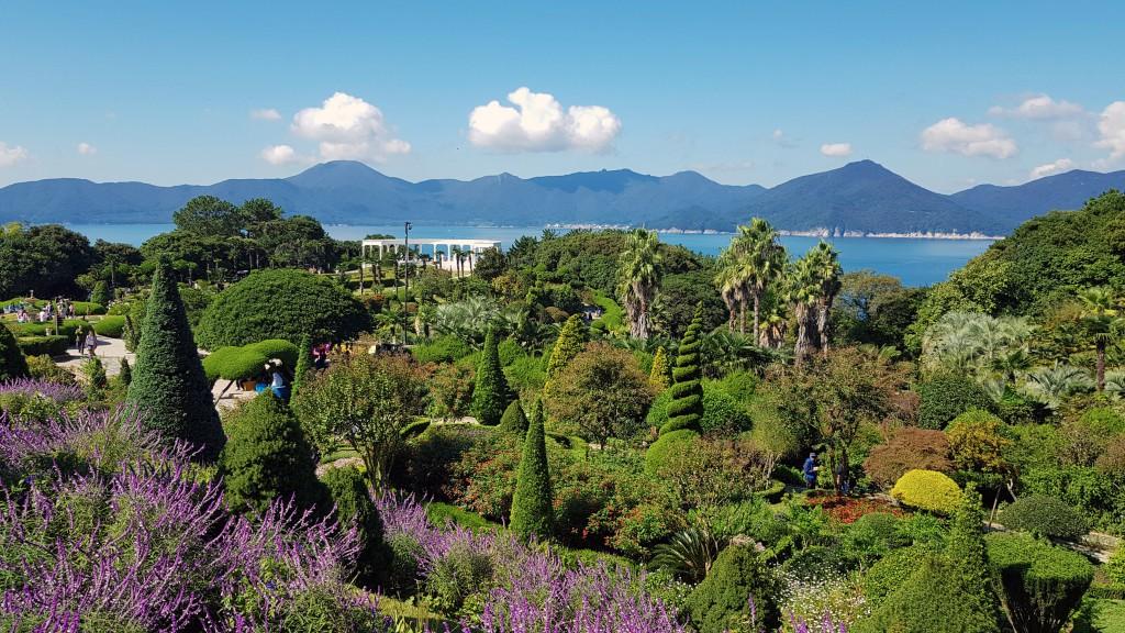 Ботанический сад на острове Ведо