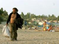 На запорожский курорт массово едут бездомные