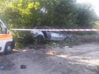 На запорожской Набережной BMW сбил женщину с ребенком: малышка скончалась