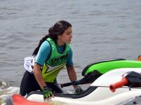 На центральном пляже Запорожья состоялся чемпионат по аквабайку, собравший спортсменов со всей страны
