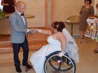 В Запорожской области вышла замуж чемпионка мира на инвалидной коляске