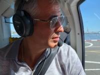 Запорожский политик отметил день рождения полетом над Нью-Йорком
