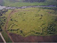 В Запорожской области презентовали новый туристический объект: руины крепости