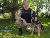 Запорожский кинолог рассказал, как служебный пес спас целый поселок и ловил маньяка