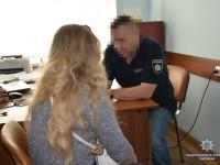 Сутенерша из Запорожья пыталась подкупить полицию (Видео)