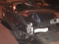 В Запорожье водитель получил тяжелую травму, врезавшись в столб
