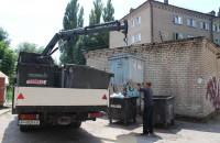 В запорожских дворах установят несколько сотен новых мусорных контейнеров