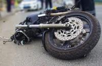 В Запорожской области грузовик переехал мотоциклисту голову