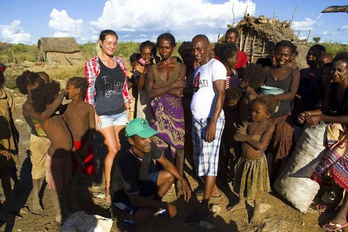 Мадагаскар деревня