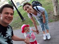 Надя Дорофеева и Дмитрий Комаров собрали на лечение для малышки из запорожского села деньги на операцию