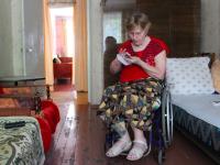 Запорожанка на инвалидной коляске 4 года не покидала квартиру