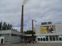 На Запорожской ТЭС тушили пожар