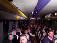 Автобус с паломниками московского патриархата задержали ночью на выезде из Запорожья