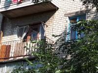 Жительница Бердянска не хотела покидать горящую квартиру